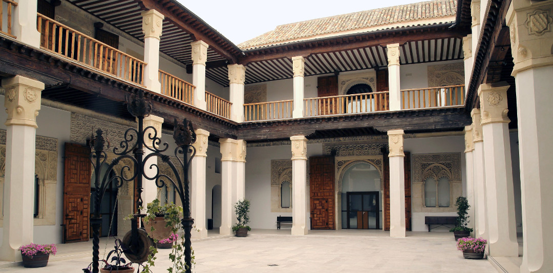 Imagen del Patio del Palacio de Fuensalida
