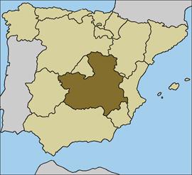Castilla-La Mancha, una posición estratégica en el centro de España
