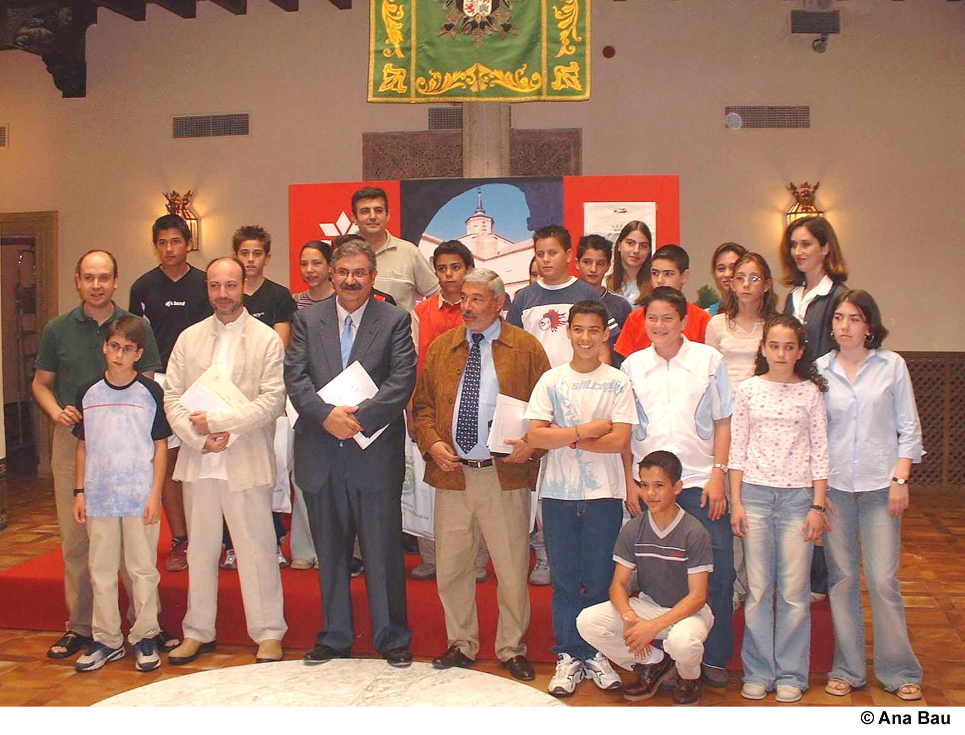 Valverde entrega los premios del colegio de aparejadores y - Colegio de arquitectos toledo ...