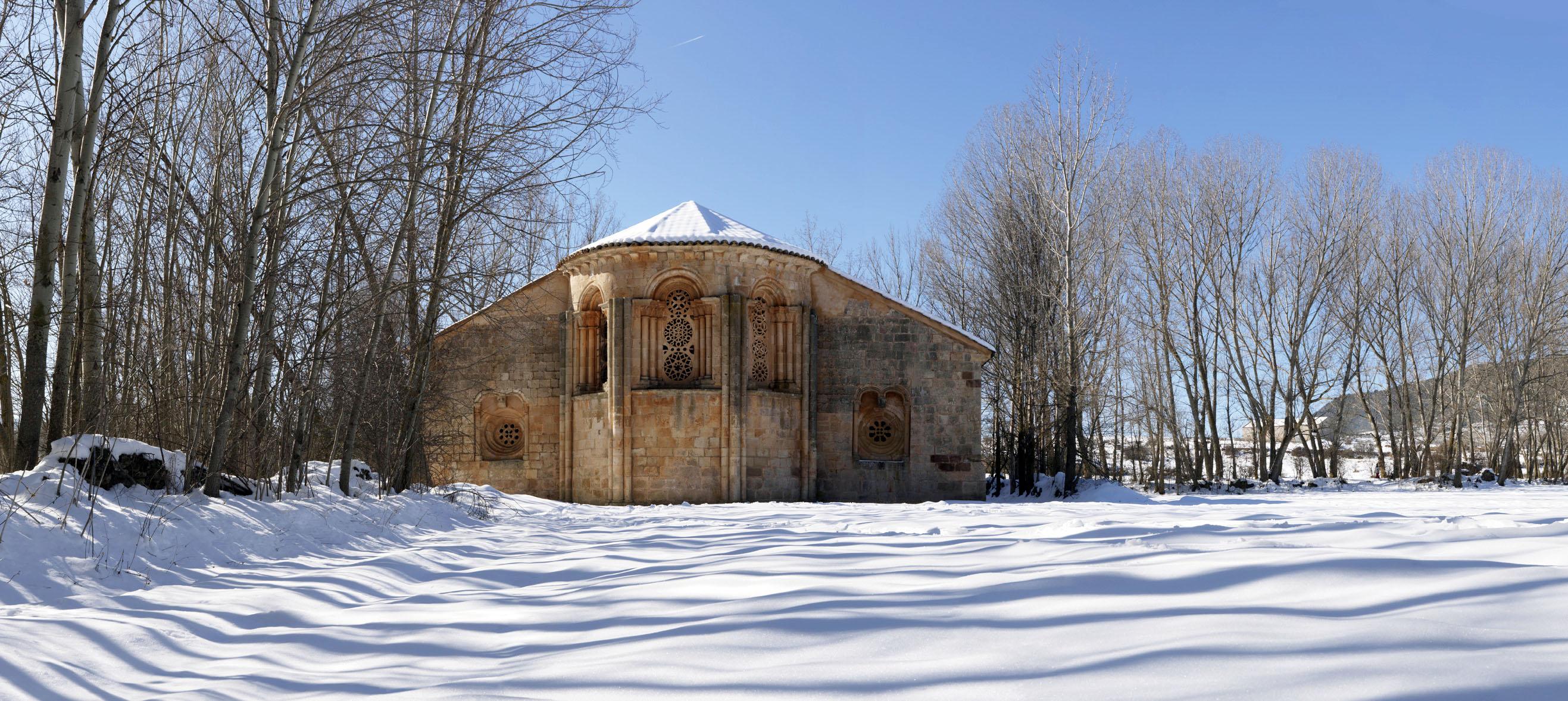 Resultado de imagen de iglesia de santa coloma de albendiego (guadalajara)