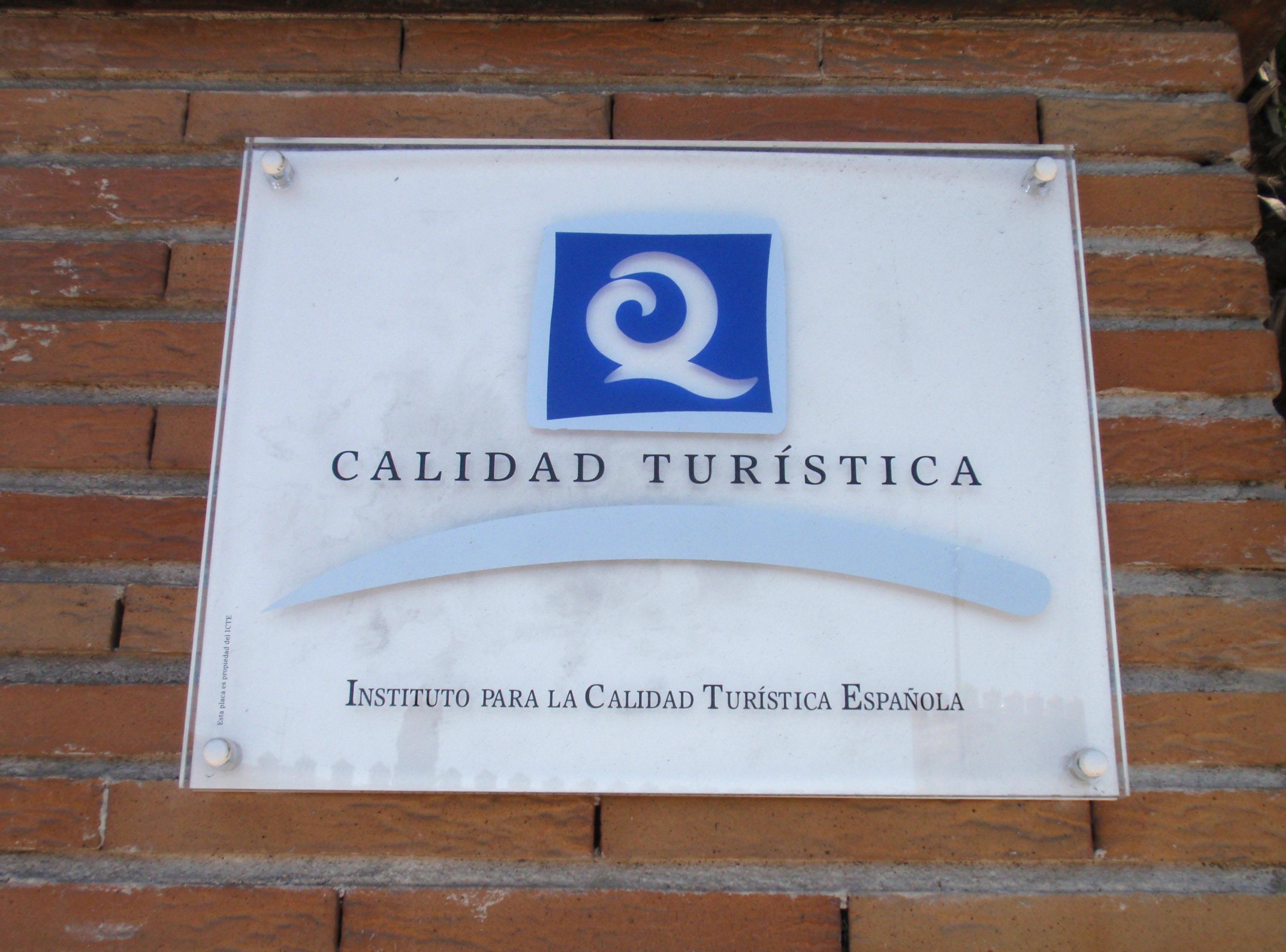 Imagen del distintivo de q de calidad for Oficinas hacienda valencia