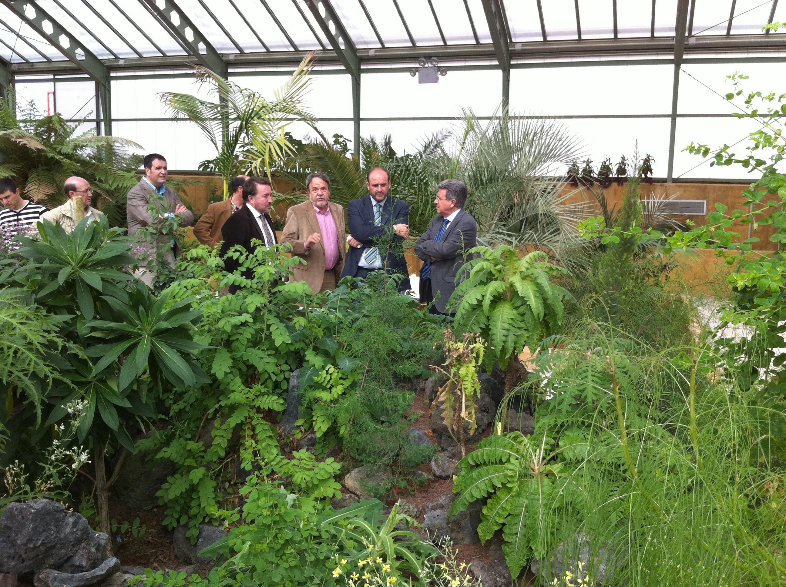 La consejer a de agricultura y medio ambiente y el jard n for Jardin botanico castilla la mancha