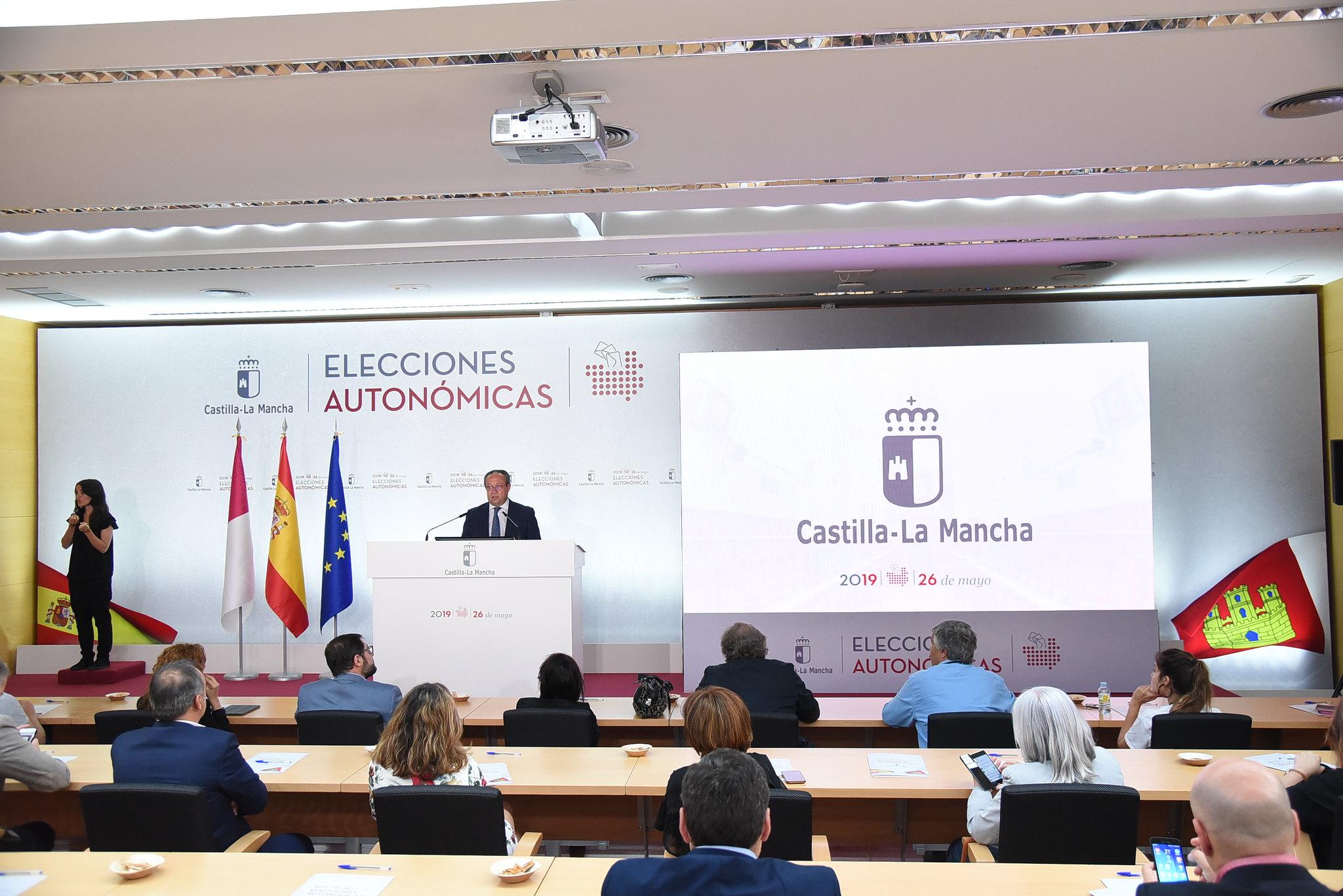 El consejero de Hacienda y Administraciones Públicas, Juan Alfonso Ruiz Molina, comparece, alas 14:30 horas, para informar sobre los datos de participación en las elecciones autonómicas