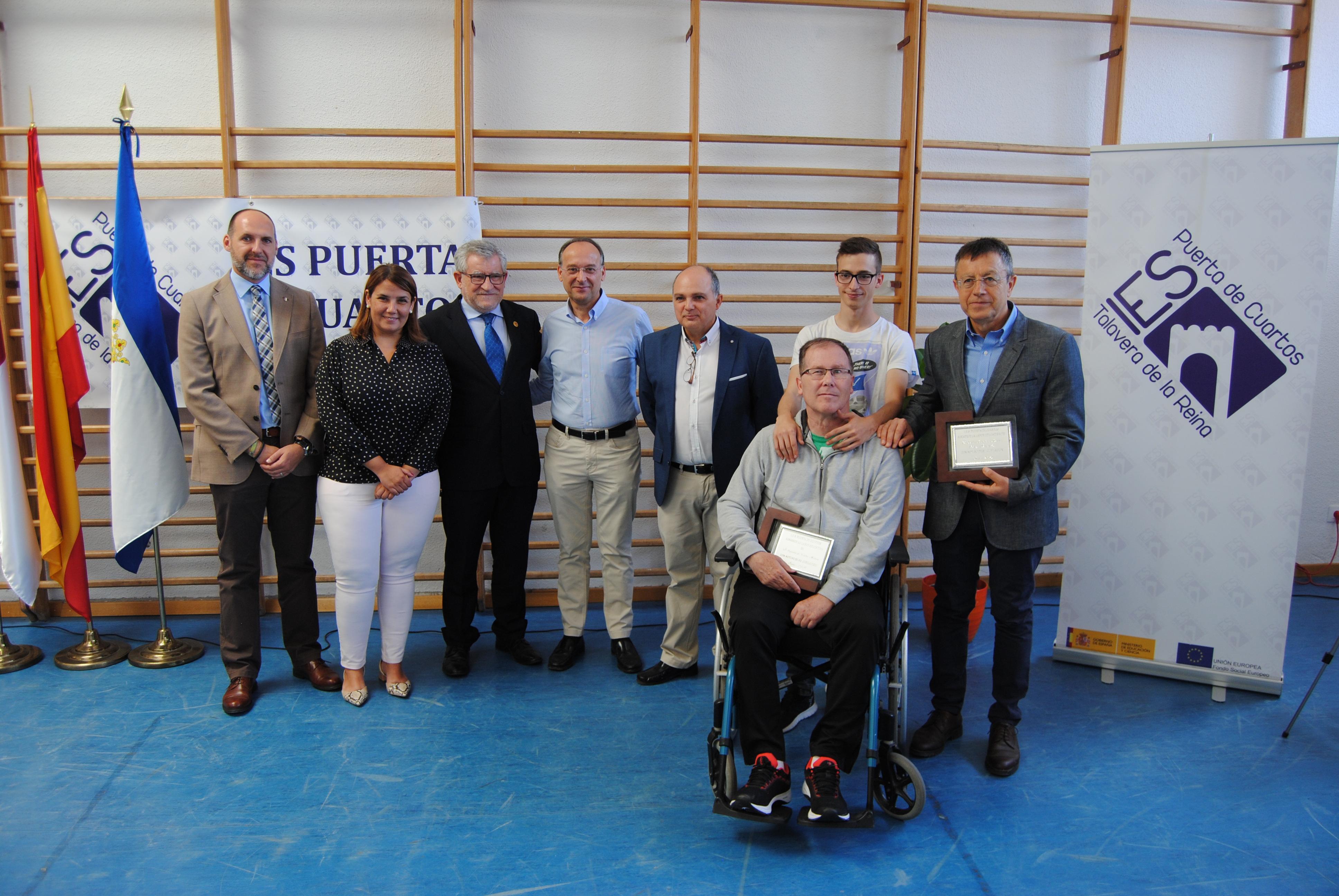 El Gobierno regional celebra con el IES 'Puerta de Cuartos' de Talavera de la Reina su 30 aniversario y felicita a su Comunidad Educativa