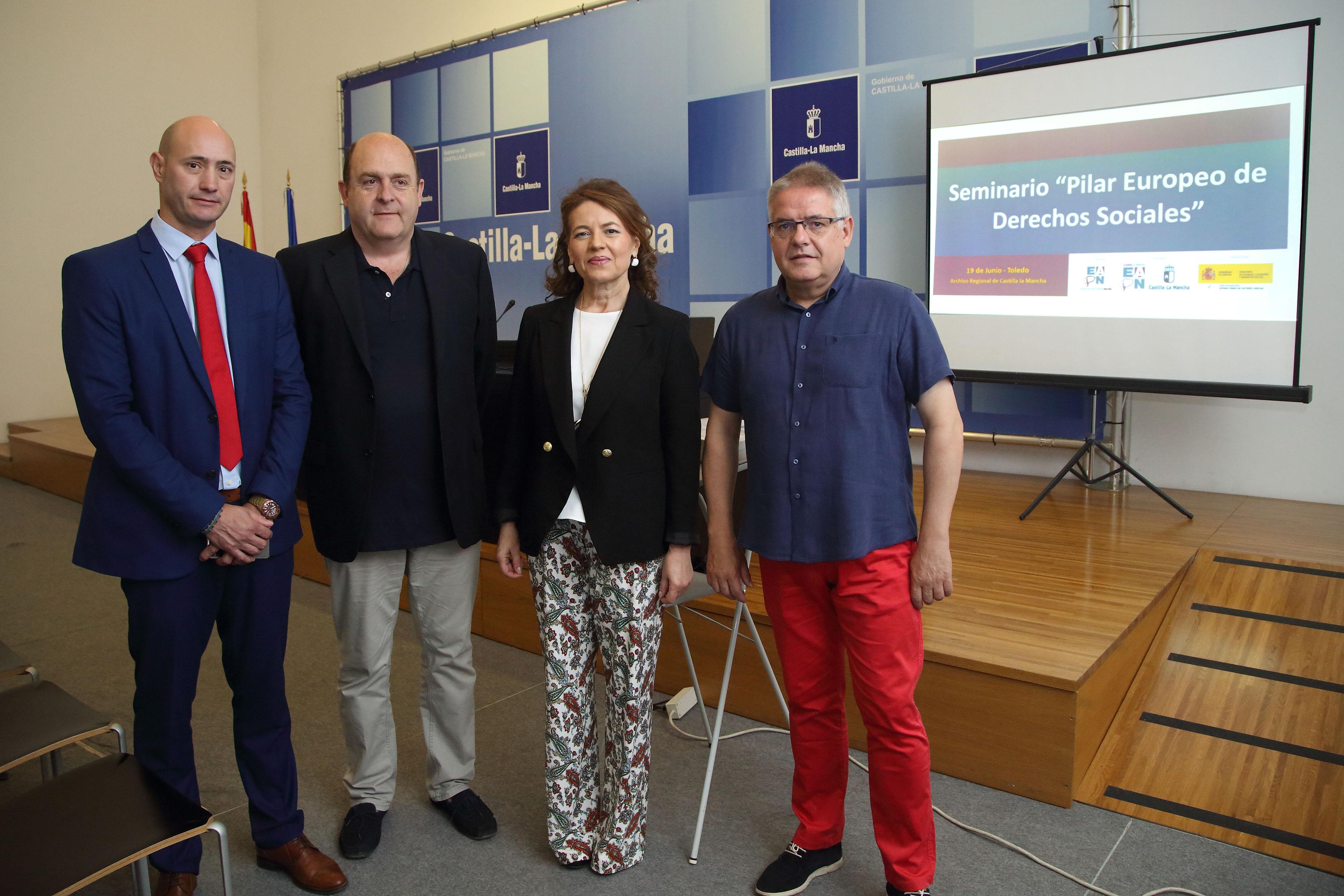 El Gobierno de Castilla-La Mancha está comprometido con el Pilar Europeo de Derechos Sociales