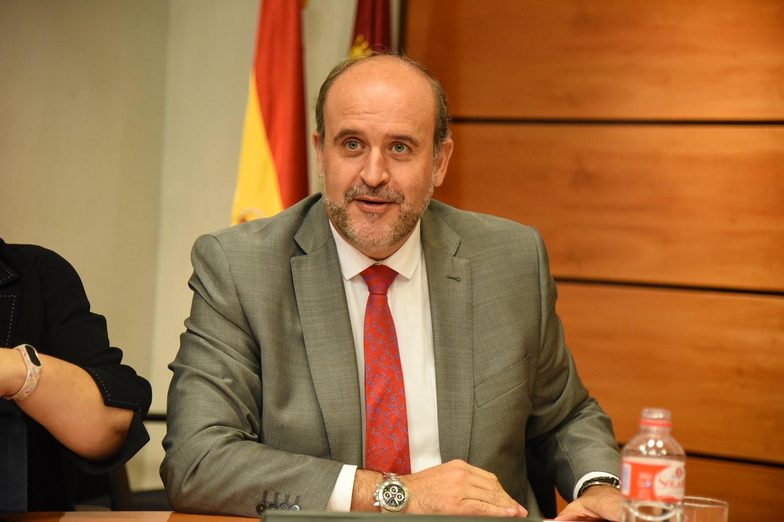 El vicepresidente de Castilla-La Mancha, José Luis Martínez Guijarro, comparece en la Comisión de Asuntos Generales de las Cortes de Castilla-La Mancha