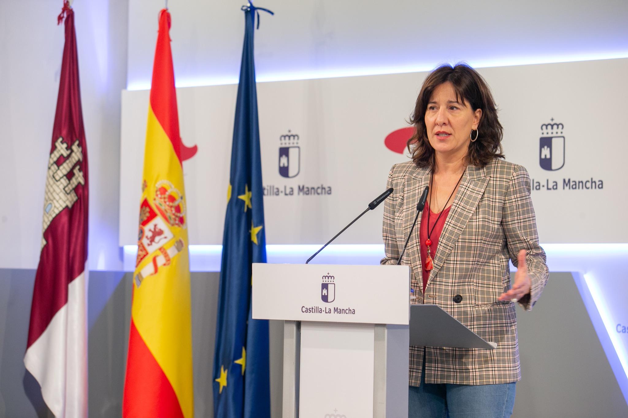 Rueda de Prensa Consejo de Gobierno. Blanca Fernández (20N) I