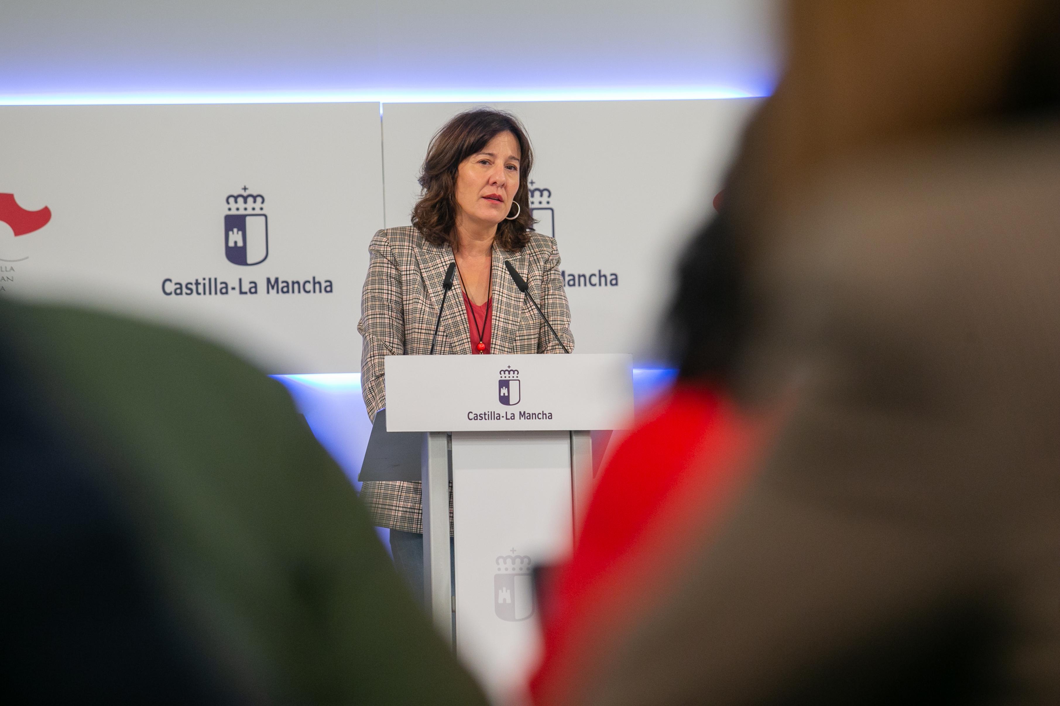 Rueda de Prensa Consejo de Gobierno. Blanca Fernández (20N) II