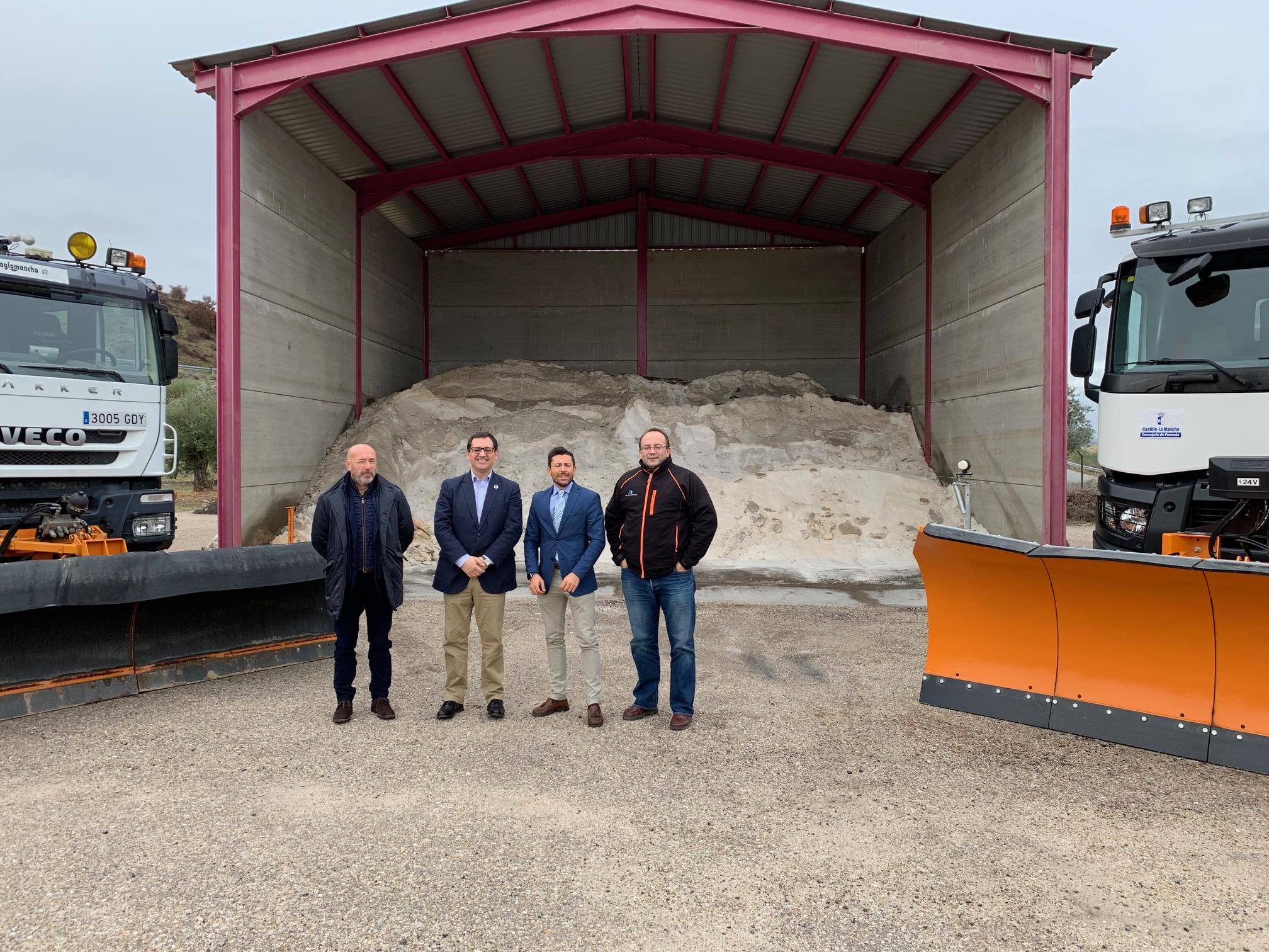 El Plan de Vialidad Invernal abarca en Toledo una extensión de 2.000 kilómetros de carreteras de la red autonómica y una previsión de 3.200 toneladas de sal