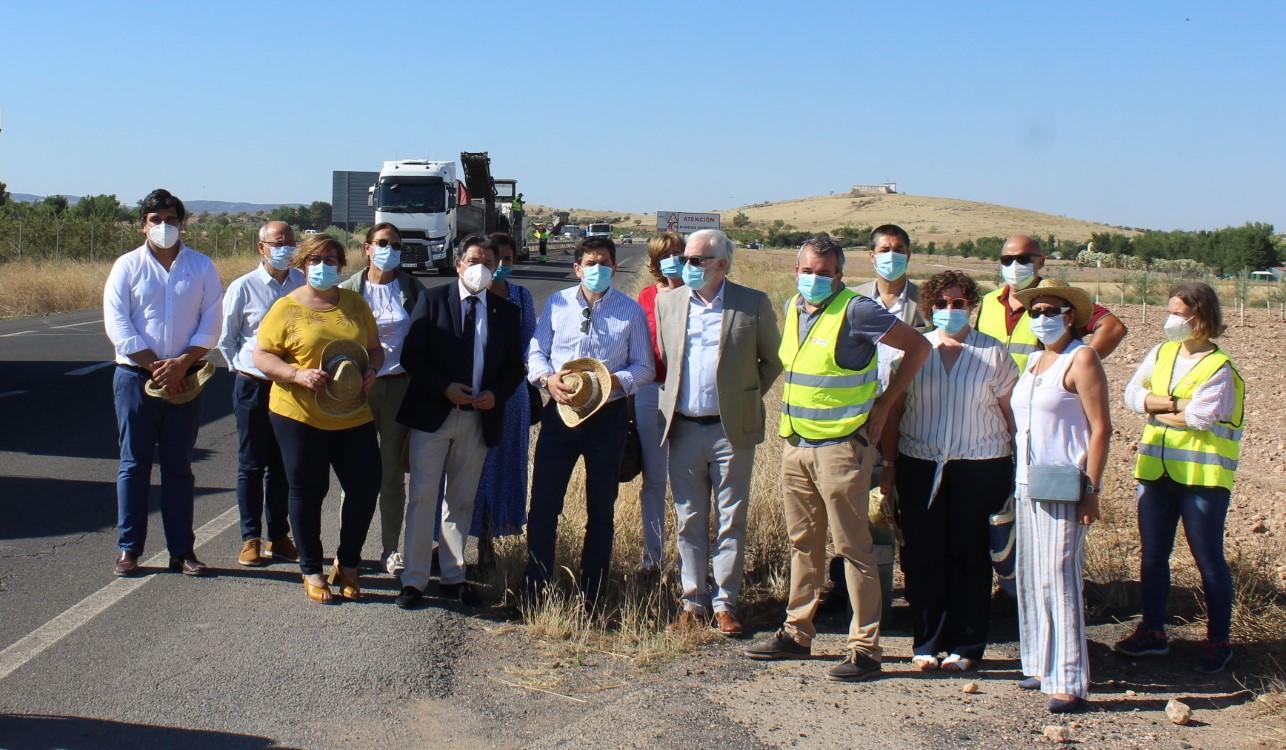 El Gobierno de Castilla-La Mancha inicia las obras de mejora en la carretera que une Bolaños y Daimiel