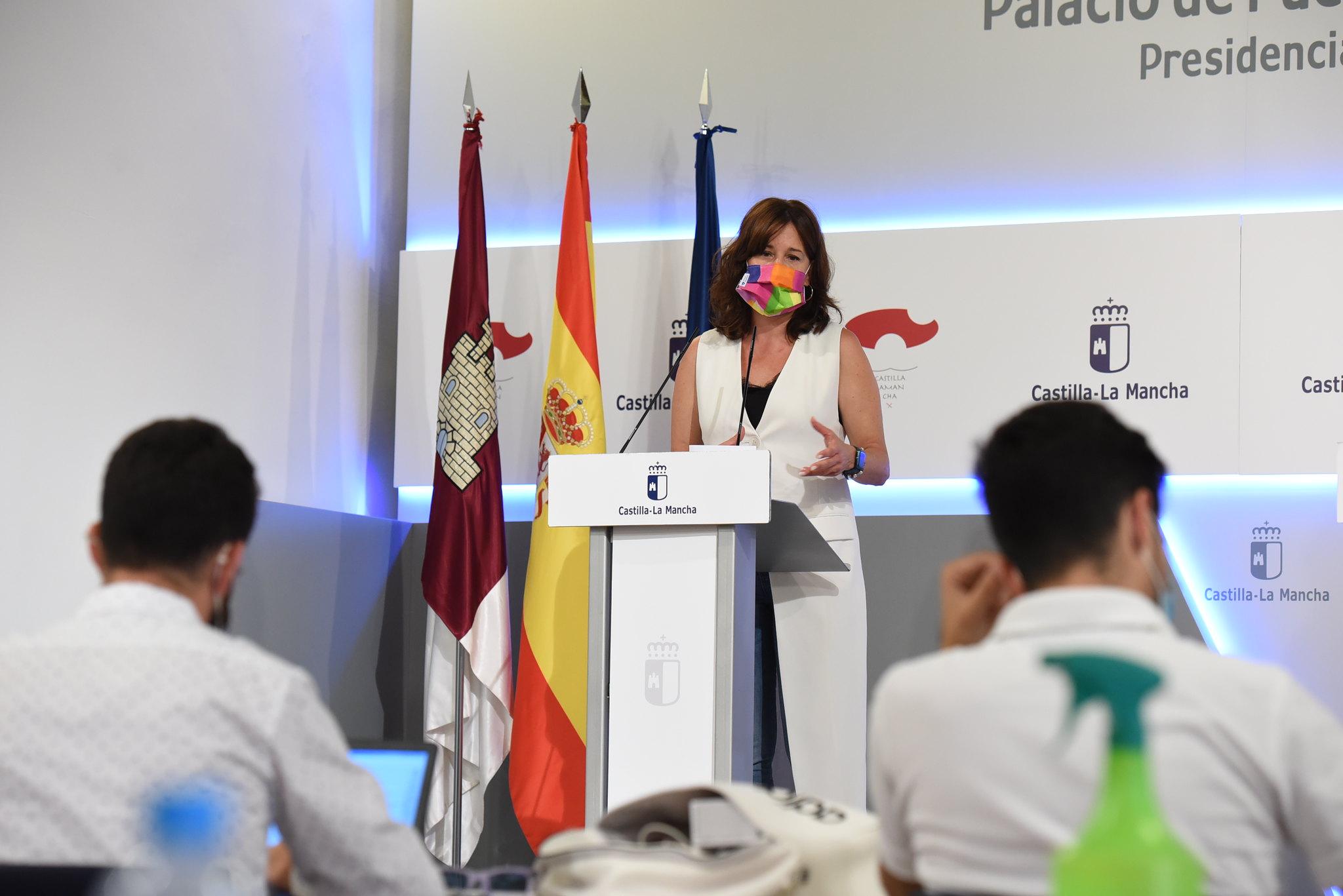 La consejera de Igualdad y Portavoz informa sobre los acuerdos del Consejo de Gobierno extraordinario (III)