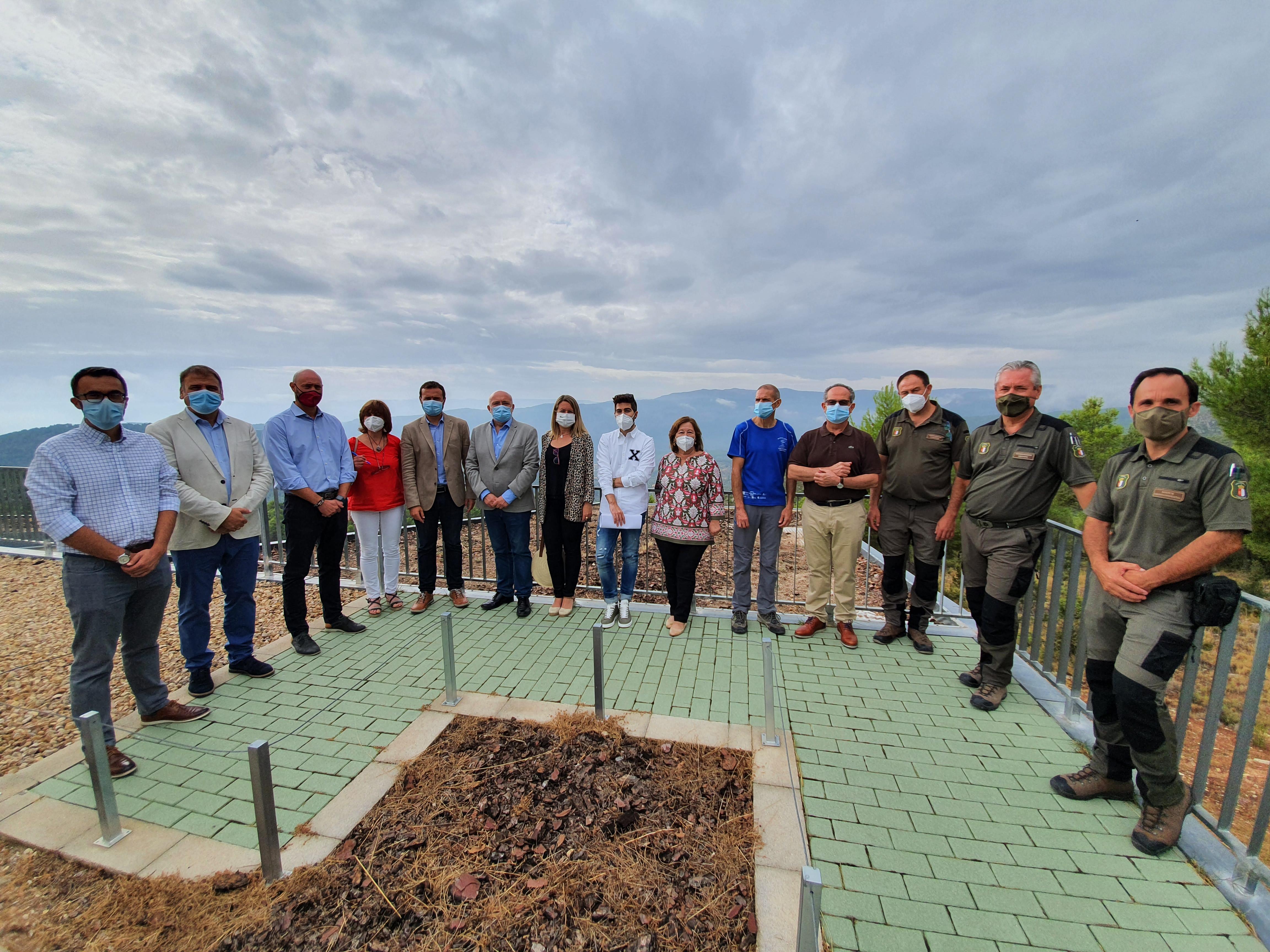 El Gobierno de Castilla-La Mancha invierte más de 300.000 euros en numerosas actuaciones y mejoras de las infraestructuras de uso público del Parque Natural de los Calares del Mundo y de la Sima