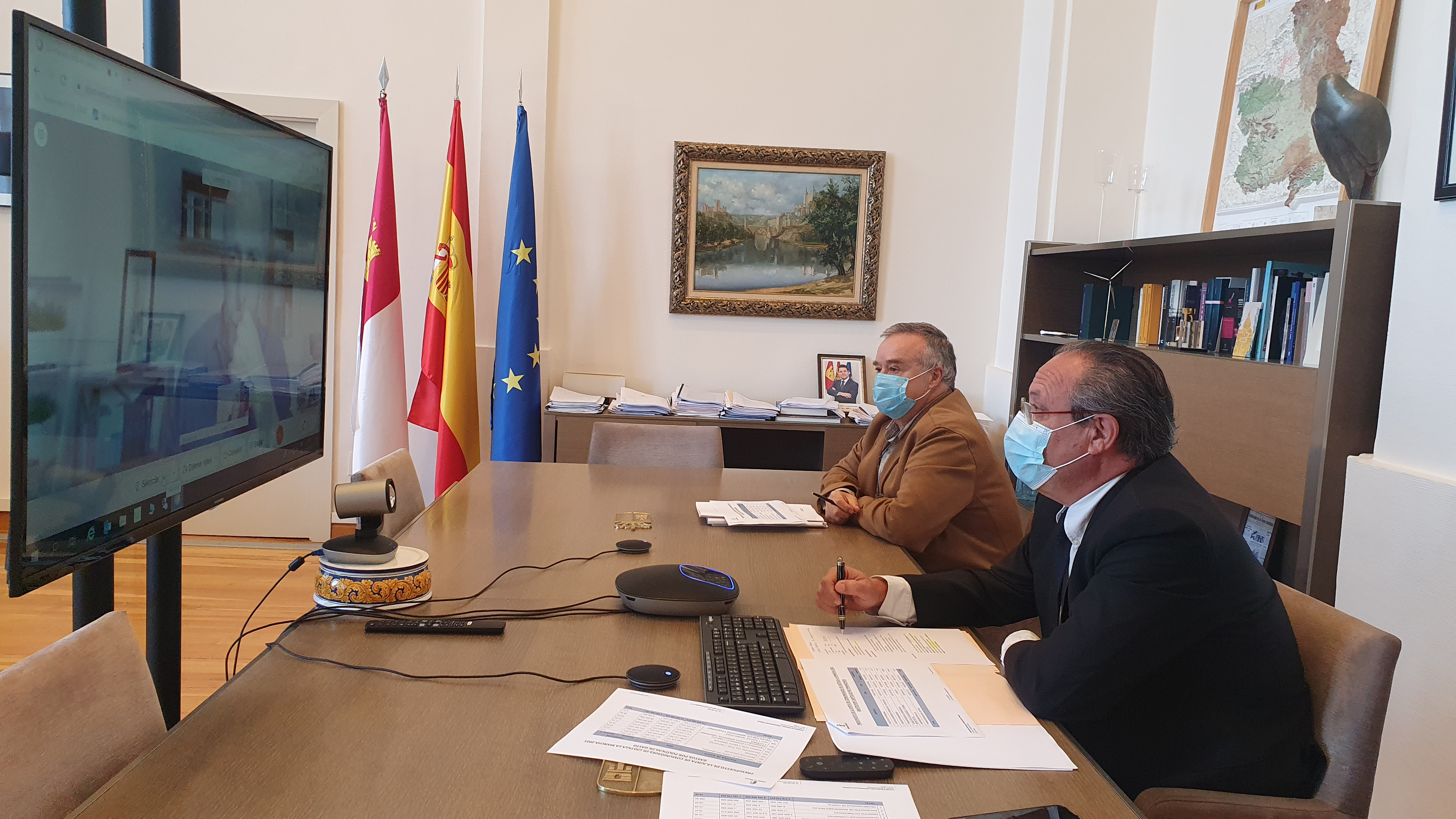 El Gobierno regional y Ciudadanos mantienen una reunión sobre los presupuestos regionales para el próximo año