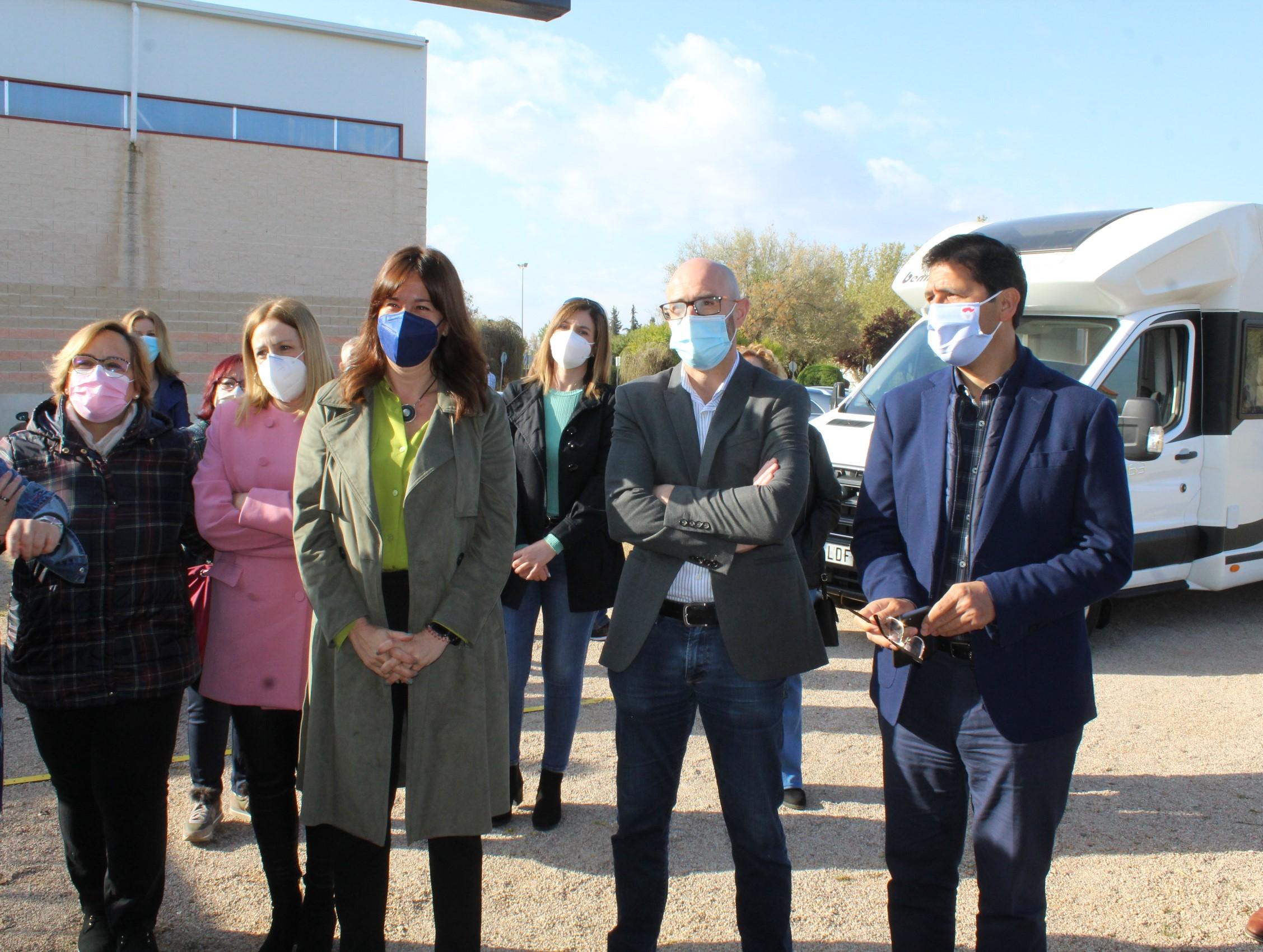 El proceso de vacunación en Castilla-La Mancha se sitúa por encima de la media nacional