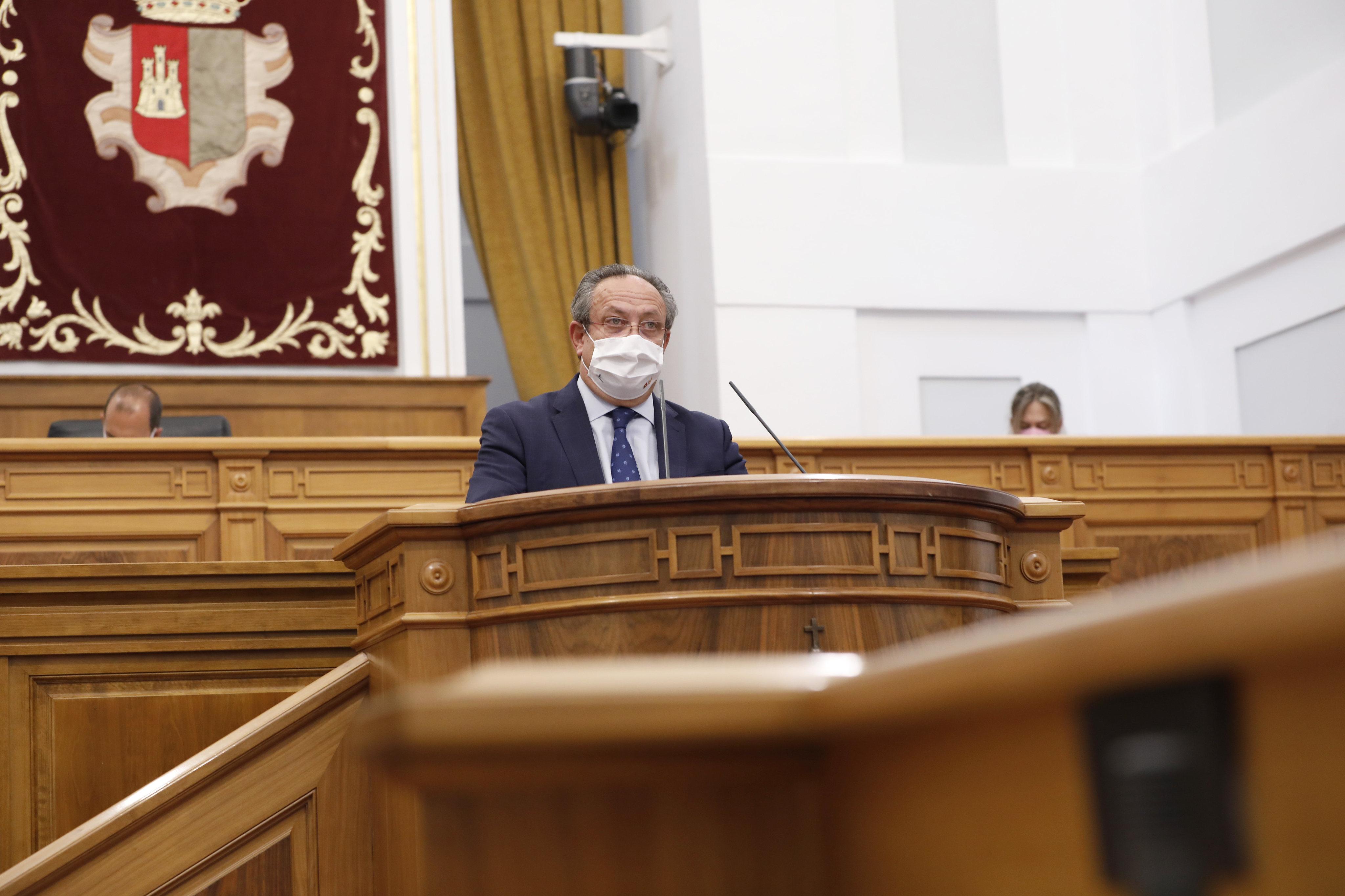 Pleno de las cortes de Castilla-La Mancha (22 de julio de 2021) (Hacienda)