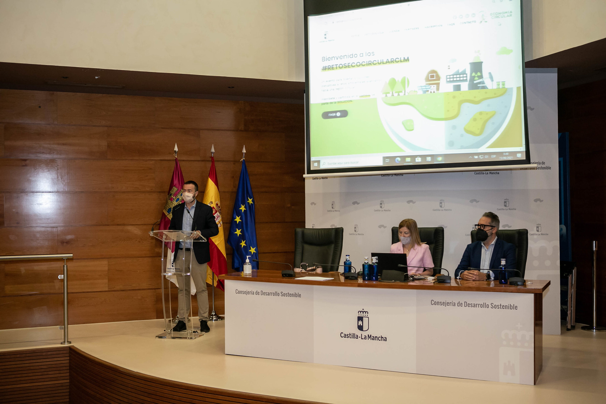 El Gobierno de Castilla-La Mancha celebra del 26 al 28 de octubre el primer 'Hackathon de Economía Circular' con 96 participantes