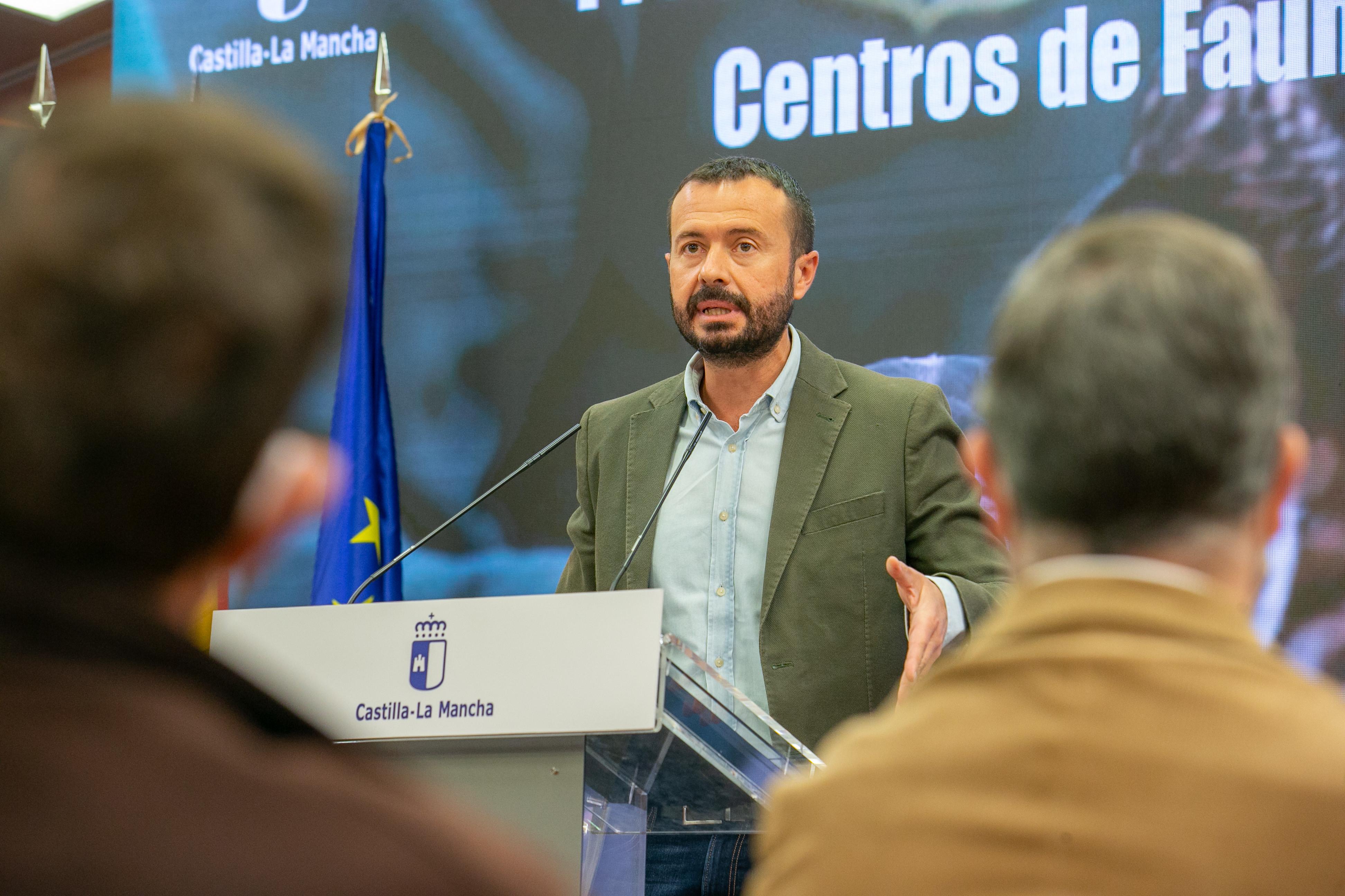 Visita al CERI y presentación del Plan regional de centros de fauna silvestre de CLM (Desarrollo Sostenible)