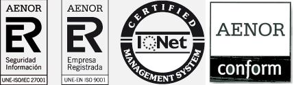 Logos de los certificados