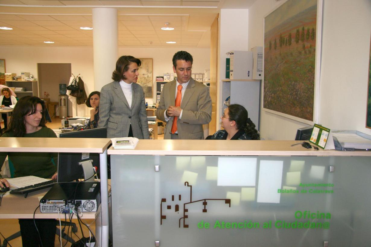 El gobierno regional invierte euros en mejorar los for Oficinas del ayuntamiento