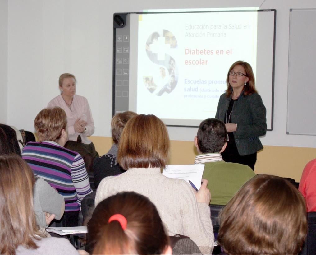 charla de salud sobre diabetes