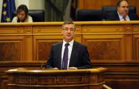 Marcial Marín interviene en Pleno de las Cortes
