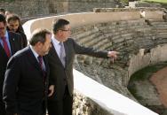 Marín visita Parque Arqueológico Segóbriga-II