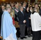 Leandro Esteban en la Santa Misa en honor a la patrona del Arma de Infanteria, en Toledo