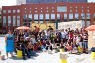 Participantes en Demoplaza