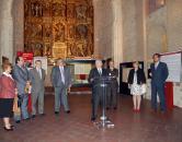 """Martínez inaugura la exposición """"El Catastro de la Ensenada. Toledo 1753-2009"""""""