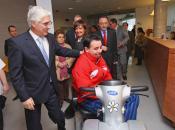Barreda visita el Centro de Salud Nº 8 de Albacete