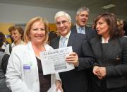 Barreda en la conmemoración del 25 aniversario del Centro de Salud Nº 1 de Albacete