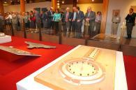 Barreda visita la muestra del III Centenario de la Feria de Albacete