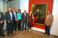 Barreda posa con la alcaldesa y los ex alcaldes de  Albacete