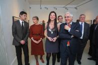 """Barreda en la inauguración la exposición """"20 años-20 imágenes""""  en Cuenca"""