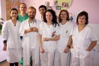 En la imagen, parte del personal de los Servicios de Paritorio y de Pediatría del Hospital de Valdepeñas