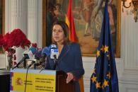 Rueda prensa Cospedal  en la embajada de España en Londres