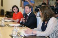 Reunión del Presidente García-Page con el comité de empresa de Elcogás