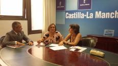 """El Instituto de la Mujer de Castilla- La Mancha acerca su exposición """"Mujer y Deporte"""" a Yebes"""