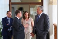 El presidente García-Page se reúne con el responsable de Elcogás