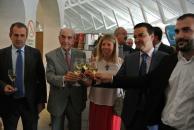 Martínez Arroyo visita la Cooperativa Virgen de las Viñas de Tomelloso