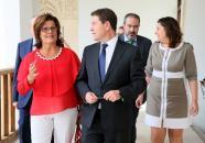 Reunión con el Consejo Regional de Cámaras de Comercio e Industria de Castilla-La Mancha