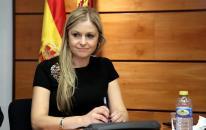 La consejera de Fomento durante su comparecencia hoy en la Comisión de Sostenibilidad de las Cortes regionales.