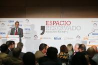 Martínez Arroyo en el desayuno informativo 'Espacio Reservado'