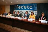 El presidente García-Page se reúne con la Junta Directiva de FEDETO