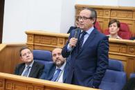 Juan Alfonso Ruiz Molina, interviniendo en las Cortes de CLM