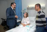El consejero de Sanidad visita la planta de Obstetricia del Hospital Nuestra Señora del Prado de Talavera de la Reina