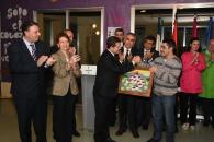 El presidente de Castilla-La Mancha, Emiliano García-Page, ha realizado una visita a las Instalaciones de la Asociacion de Parálisis Celebral (APCE)
