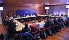 Aurelia Sánchez ha presidido hoy en Toledo la constitución de la Mesa Sectorial de Bienestar Social