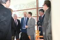 Presidente García-Page en desayuno informativo en Cuenca