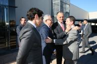 El presidente García-Page visita la sede de Incarlopsa en Tarancón